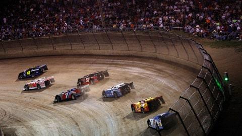 Photos: NASCAR stars in action at Eldora Speedway