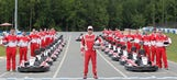 Fan Prix: Kevin Harvick goes go-karting with 21 of his biggest fans