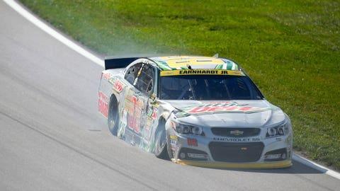 Photos: Racing and wrecking in Contender Round opener in Kansas