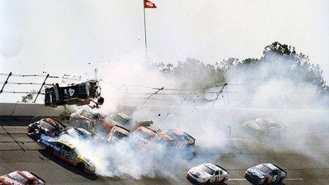 Photos: When the 'Big One' strikes at Talladega Superspeedway