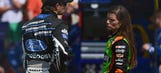 How did Ricky Stenhouse Jr. spend his day off while Danica raced?