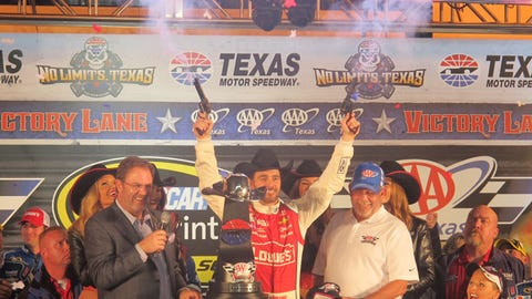 Jimmie Johnson visits Victory Lane in Texas