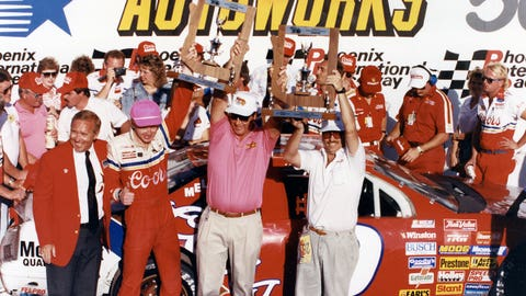 Photos: Past winners at Phoenix International Raceway