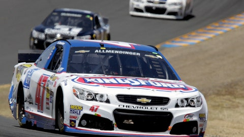 Photos: AJ Allmendinger's breakthrough Sprint Cup season