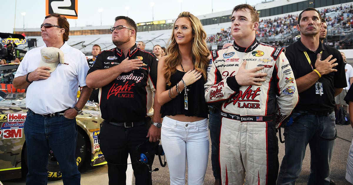 Ty Dillon Marries Girlfriend Haley Carey In True Nascar