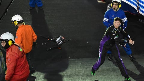 Photos: Denny Hamlin's rocky road to the Championship 4