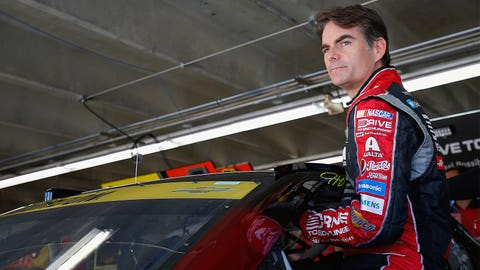 7. Will Jeff Gordon's back problems flare up again?