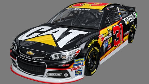 Ryan Newman's 2015 Sprint Cup paint schemes