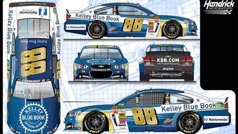 Dale Earnhardt Jr.'s 2015 Sprint Cup paint scheme