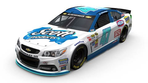 Photos: 2015 paint schemes for JTG Daugherty Racing