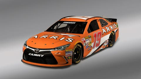 Carl Edwards' 2015 Sprint Cup paint schemes