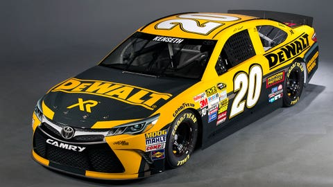 Matt Kenseth's 2015 Sprint Cup paint schemes