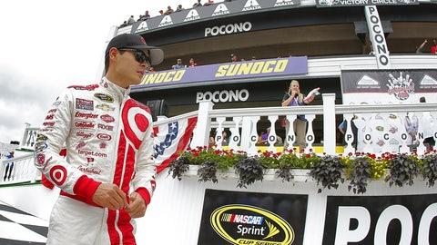 13. Pocono Raceway, Kyle Larson, 183.438 mph, Aug. 1, 2014