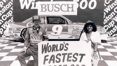 1. Talladega Superspeedway, Bill Elliott, 212.809 mph, April 30, 1987