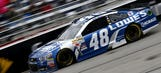 Jimmie Johnson guides No. 48 to Victory Lane at Atlanta
