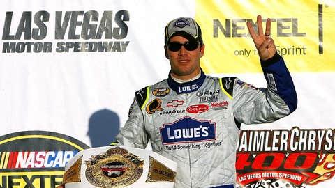 Viva Las Victory Lane: Past Las Vegas Motor Speedway winners