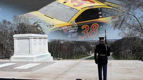 The Unknown Solider/No. 38 Front Row Motorsports Ford of David Gilliland