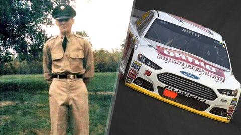 Army Private 1st Class Deane S. Van Dyke/No. 16 Roush Fenway Racing Ford of Greg Biffle