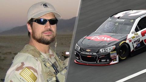 Navy Seal Chief Adam Brown/No. 3 Richard Childress Racing Chevrolet of Austin Dillon