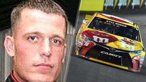 Marine Gunnery Sgt. Aaron M. Kenefick/No. 18 Joe Gibbs Racing Toyota of Kyle Busch