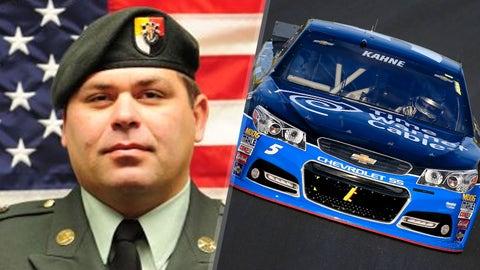Army Sgt. First Class Riley Gene Stephens/No. 5 Hendrick Motorsports Chevrolet of Kasey Kahne