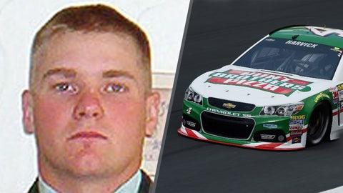 Army Sgt. Cory R. Mracek/No. 4 Stewart-Haas Racing Chevrolet of Kevin Harvick