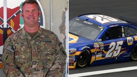 Army Chief Warrant Officer 2 Michael Stephen Duskin/No. 25 Hendrick Motorsports Chevrolet of Chase Elliott