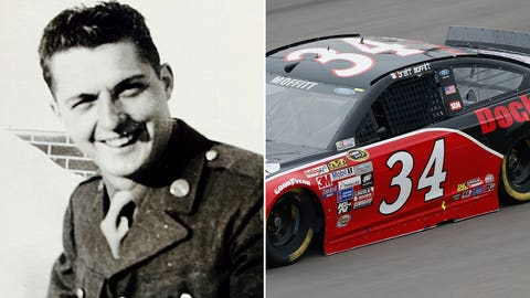 Army Sgt. Renald J. Bouthout/No. 34 Front Row Motorsports Ford of Brett Moffitt