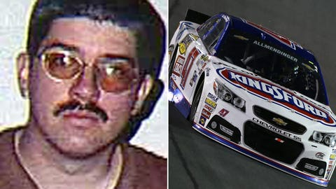 Army Cpl. Darrell L. Smith/No. 47 JTG Daugherty Racing Chevrolet of AJ Allmendinger