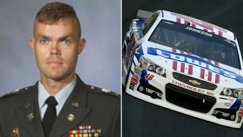 National Guard 1st Lt. Robert L. Henderson II/No. 48 Hendrick Motorsports Chevrolet of Jimmie Johnson