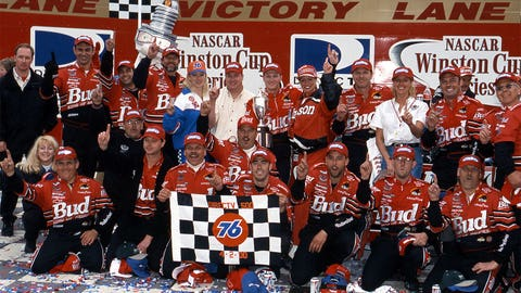 First career Sprint Cup win
