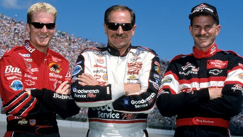 NASCAR dads and their children who've been in the sport