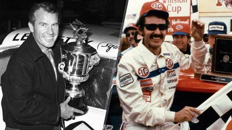 Lee and Richard Petty, 254 victories