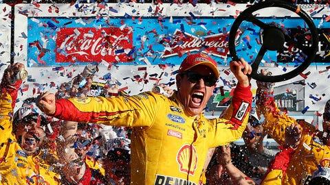 Joey Logano wins the Daytona 500