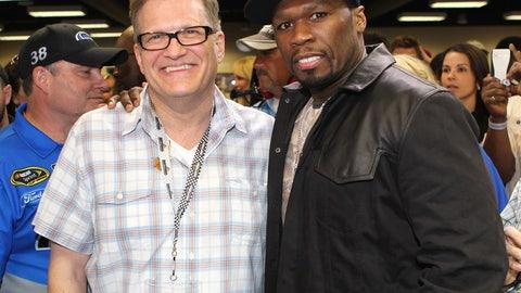 Drew Carey and 50 Cent