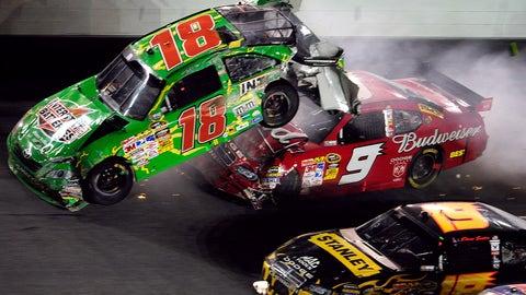 Kasey Kahne and Kyle Busch: Daytona, 2009