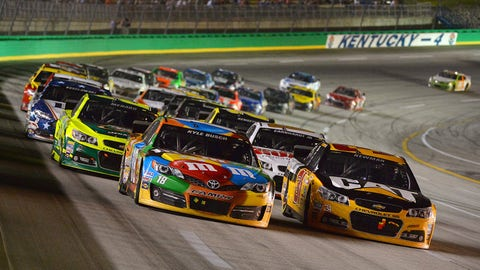5 contenders to win at Kentucky Speedway