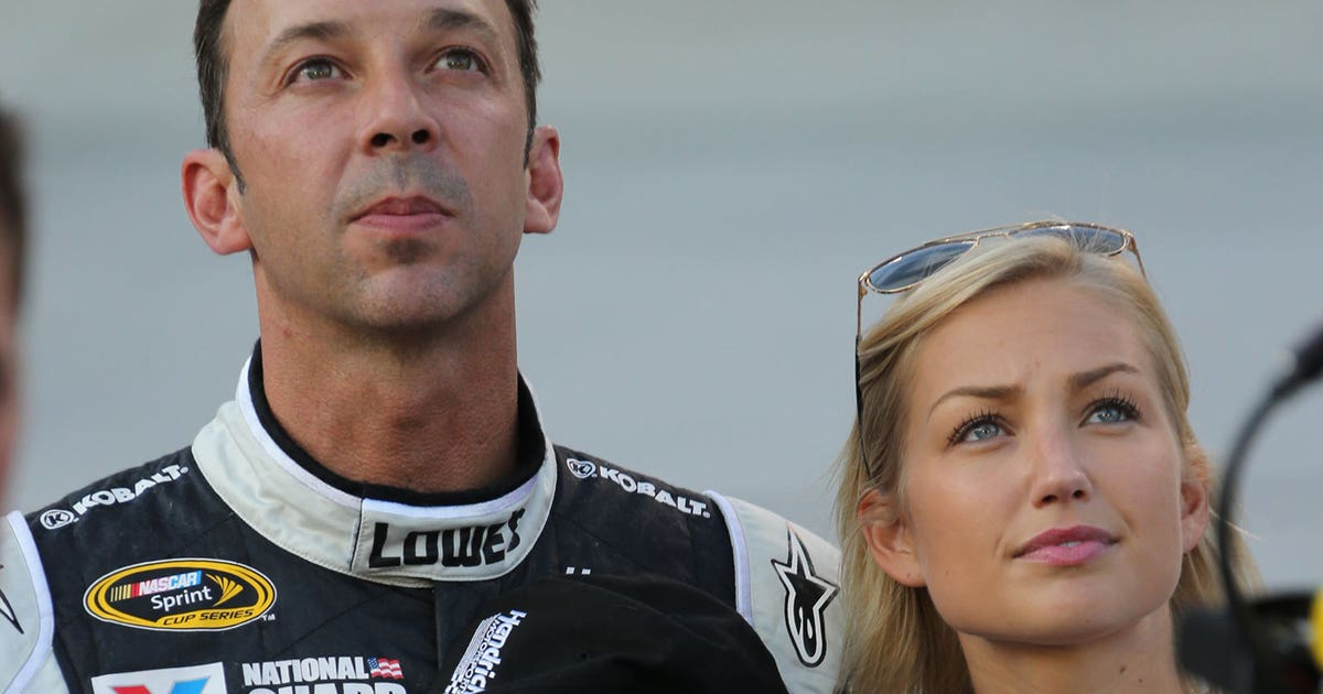 Chad Knaus Former Miss Sprint Cup Brooke Werner Tie The Knot Fox Sports