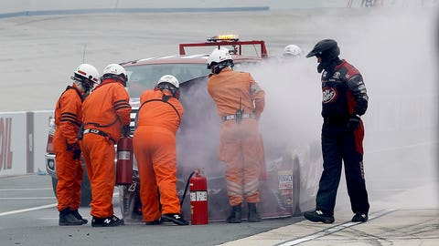 Monster mash: Relive the action from Sunday's Chase elimination race at Dover