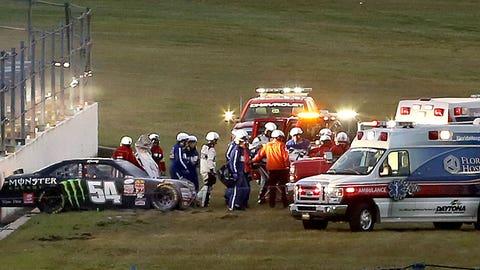 Kyle Busch gets injured in vicious XFINITY Series crash at Daytona