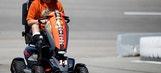 Smoke Will Ride: Stewart Rolls Into Richmond … On A Custom Scooter