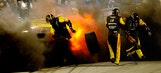 Here's Why Paul Menard's Tire Turned Into An Exploding Fireball