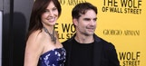 Date night: Jeff Gordon and wife Ingrid attend premiere of new Leonardo DiCaprio flick