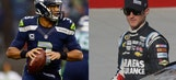 Kasey Kahne, Seahawks QB Russell Wilson join forces for charity event