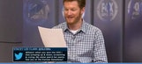 Tweeting @DaleJr: Dale Earnhardt Jr. reads funny messages from fans on FOX Sports Live