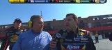 NASCAR Mad Lib: AJ Allmendinger recreates Tony Stewart's epic Auto Club Speedway rant