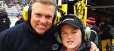 Now cancer free, Steve Byrnes looks forward to a special Father's Day