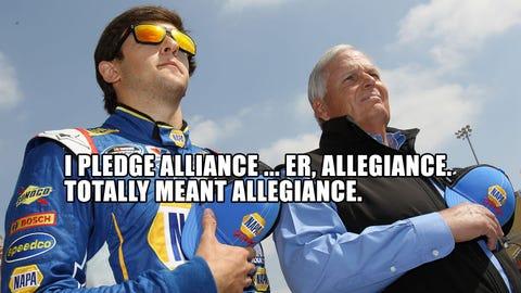 @NASCAR_Wonka goes behind the scenes of the RTA