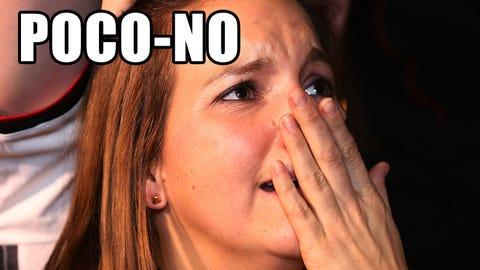 Playing Poco-No & Poco-Yes with @NASCAR_Wonka