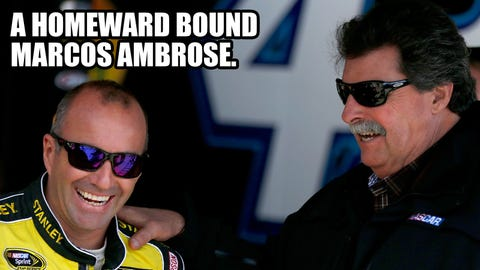 Photos: Who will be loud in Loudon? NASCAR Wonka knows